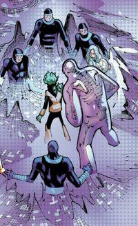 Machine Men (Earth-16558) from Extraordinary X-Men Vol 1 9 001