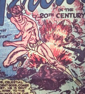 Makkari (Earth-616) from Red Raven Comics Vol 1 1 0001