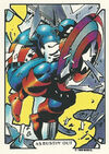 Steven Rogers (Earth-616) from Mike Zeck (Trading Cards) 0004