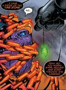 Thanos (Earth-616) and Frank Castle (Earth-TRN666) from Thanos Vol 2 13 001