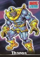 Thanos (Earth-616) from Marvel Legends (Trading Cards) 0001