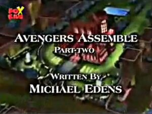 The Avengers United They Stand Season 1 2 Title Card