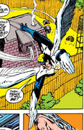 Warren Worthington III (Earth-616) Blue costume from X-Men Vol 1 62