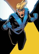 Warren Worthington III (Time-Displaced) (Earth-TRN727) from X-Men Blue Vol 1 33 001