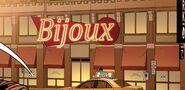 Bijoux Restaurant & Tapas Bar from Spider-Man 2099 Vol 3 1 001