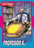 Charles Xavier (Earth-616) from X-Men (Trading Cards) 1992 Set 001