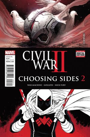 Civil War II Choosing Sides Vol 1 2