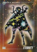 Eternity (Earth-616) from Marvel Universe Cards Series III 0001