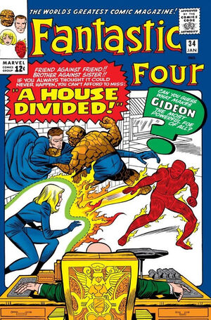 Fantastic Four Vol 1 34