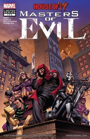 House of M Masters of Evil Vol 1 1