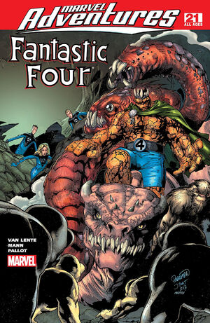 Marvel Adventures Fantastic Four Vol 1 21