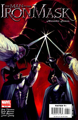 Marvel Illustrated The Man in the Iron Mask Vol 1 6