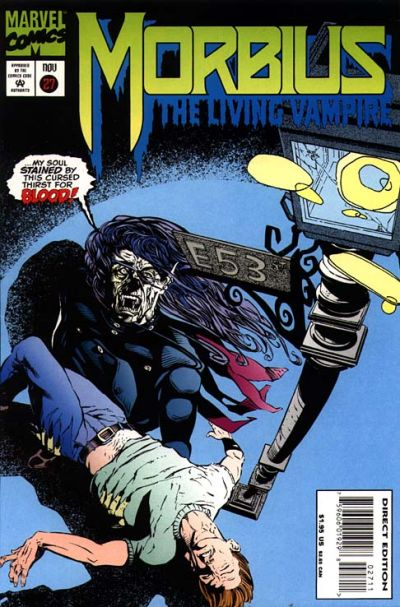 Morbius Vampire >> Morbius: The Living Vampire Vol 1 27 | Marvel Database