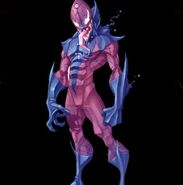 Perpetual Holographic Avatar NanoTech Offensive Monsters Symbiote Stalker from Spider-Man Friend or Foe 001