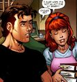 Peter Parker (Earth-91101) and Mary Jane Watson (Earth-91101) from Spider-Man The Clone Saga Vol 1 4 001.jpg