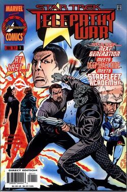 Star Trek Telepathy War Vol 1 1