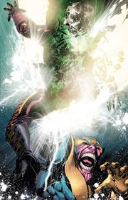 Thanos (Earth-616) and Arthur Douglas (Earth-616) from Thanos Imperative Vol 1 4 001
