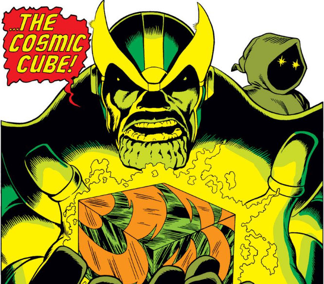 Thanos (Earth-616) and Cosmic Cube from Captain Marvel Vol 1 28 0001.jpg