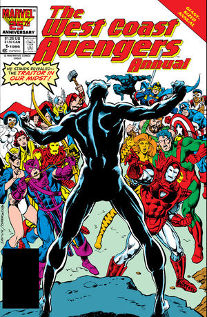 West Coast Avengers Annual Vol 1 1