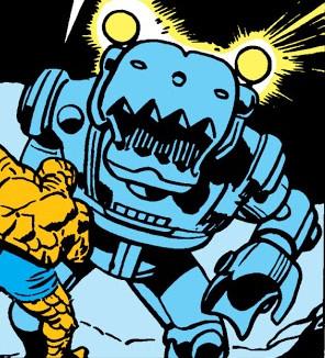 Wrecker's Robot from Fantastic Four Vol 1 12 0001