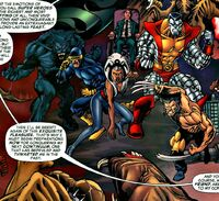 X-Men (Earth-617) from Doc Samson Vol 2 4 0001
