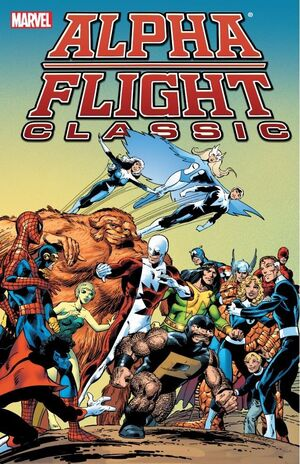 Alpha Flight Classic TPB Vol 1 1
