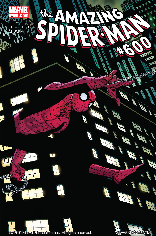 Resultado de imagem para Amazing Spider-Man 600 identity crisis