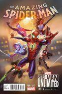 Amazing Spider-Man Vol 4 1 Spider-Man Unlimited Game Variant