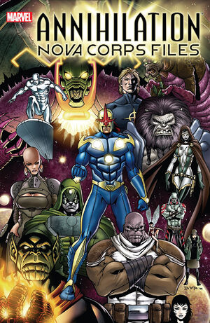 Annihilation The Nova Corps Files Vol 1 1