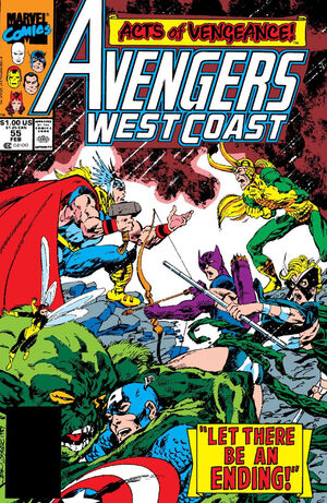 Avengers West Coast Vol 2 55
