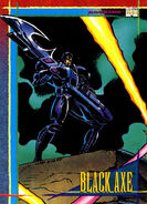 Black Axe (Earth-616) from Marvel Universe Cards Series IV 0001