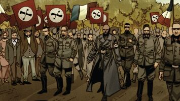 British Union of Fascists (Earth-13410) from X-Treme X-Men Vol 2 11 0002
