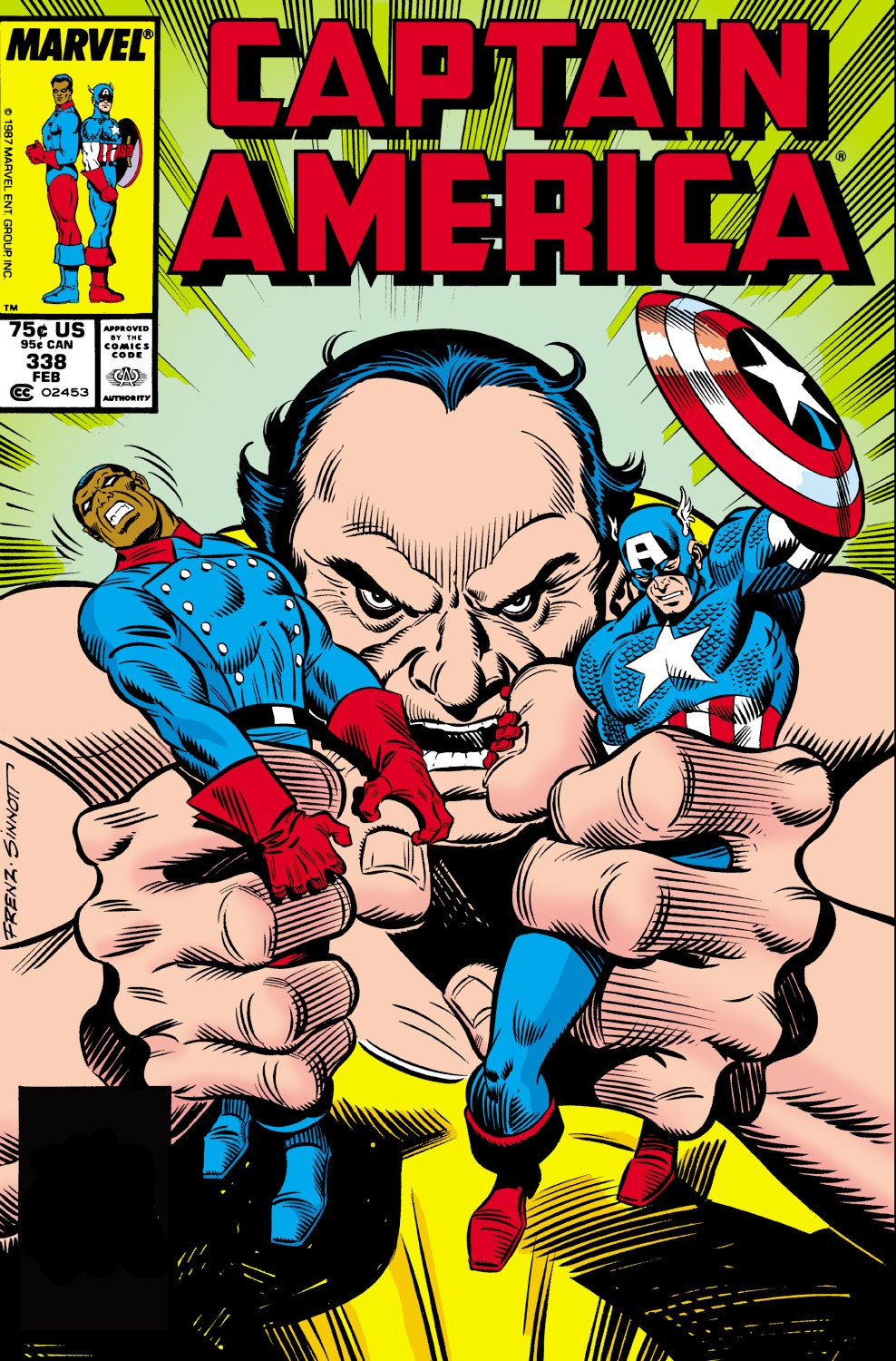 Captain America Vol 1 338