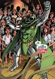 Doombot (Avenger) (Earth-14831) from New Avengers Ultron Forever Vol 1 1 001