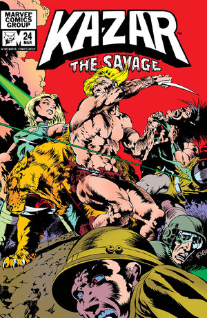 Ka-Zar the Savage Vol 1 24