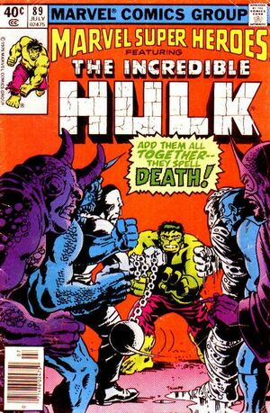 Marvel Super-Heroes Vol 1 89