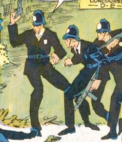 Metropolitan Police Service (Earth-616) from Web of Spider-Man Vol 1 20 0001