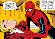 Peter Parker and Burglar (Earth-616) from Amazing Fantasy Vol 1 15 0001