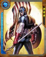 Steven Rogers (Earth-616) from Marvel War of Heroes 003