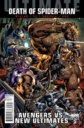 Ultimate Avengers vs. New Ultimates Vol 1 2 Bryan Hitch Variant