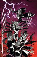 Uncanny X-Force Vol 2 1 Garney Variant Textless