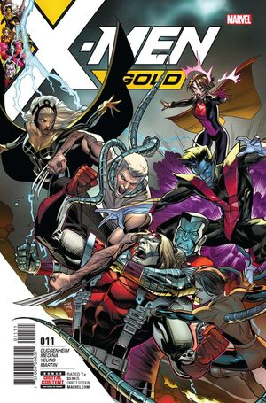 X-Men Gold Vol 2 11