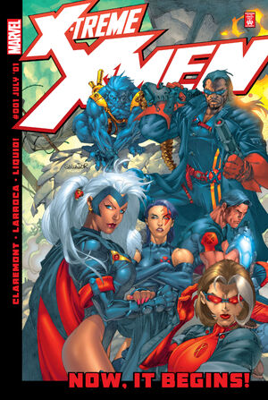 X-Treme X-Men Vol 1 1
