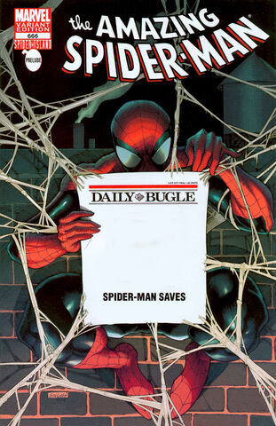 File:Amazing Spider-Man Vol 1 666 Bugle Retailer Exclusive Variant.jpeg