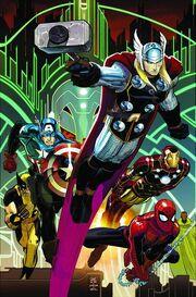 Avengers Vol 4 5 Textless