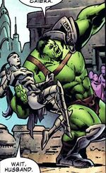 Bruce Banner (Earth-7121) from What If Planet Hulk Vol 1 1 001