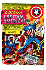 Capitan America Origini