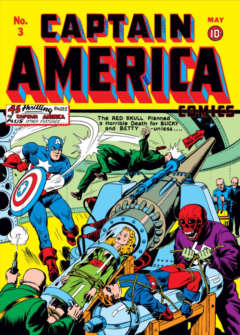 captain america comics vol 1 3 | marvel database | fandom powered