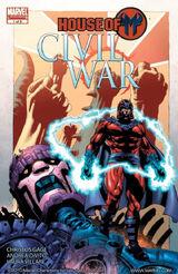 Civil War: House of M Vol 1 1