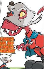 Devil Dinosaur (Earth-Unknown) from Not Brand Echh Vol 1 14 0001